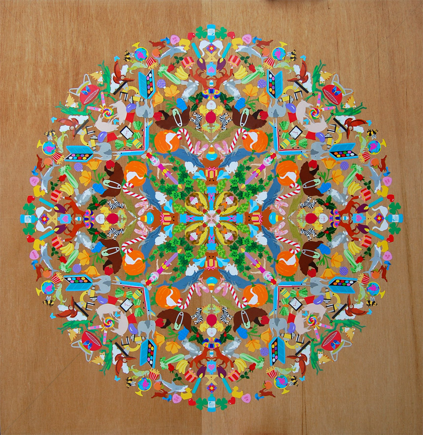 Sticker Mandalas