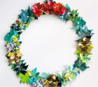 credit card wreath