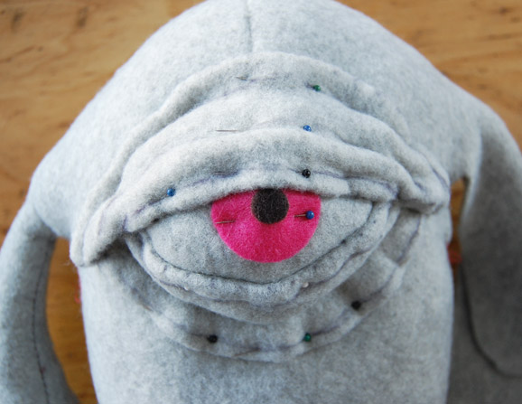 Epic How To: Make a 3 D Plush Pattern from a   2 D Drawing (Starring Mitch from Neon Monster)