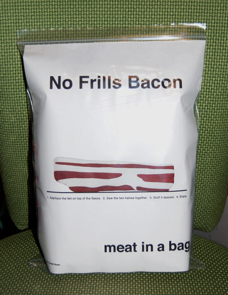 Thing-A-Day: No Frills Meat Indentity Branding | Lauren Venell