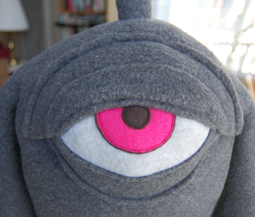 Epic How-To: Make a 3-D Plush Pattern from a   2-D Drawing (Starring Mitch from Neon Monster)